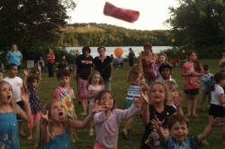 Kids at the Summer Concert Series