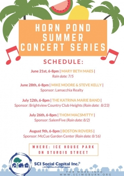 Horn Pond Summer Concert Series